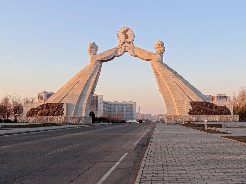 3 ùuk Zjednoczenia,Pjongjang,Korea P¢ànocna,fot.Bjorn Christian Torrissen,CC BY-SA 3.0