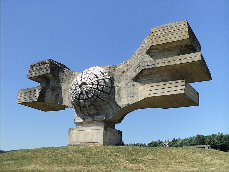 6 Spomenik revolucije naroda Moslavine,PodgariÜ,Chorwacja,fot.Plamen,zdjecie w domenie publicznej