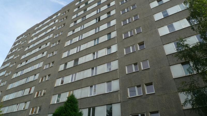 Blok z wielkiej plyty,Pruszkow,fot.ac