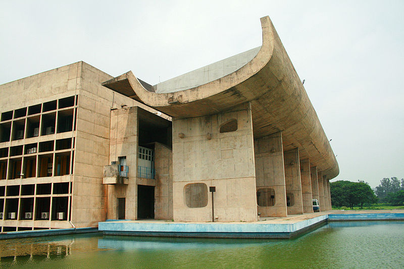 Palace of Assembly, Chandigarh,fot.Chiara,(CC BY-SA 2.0)