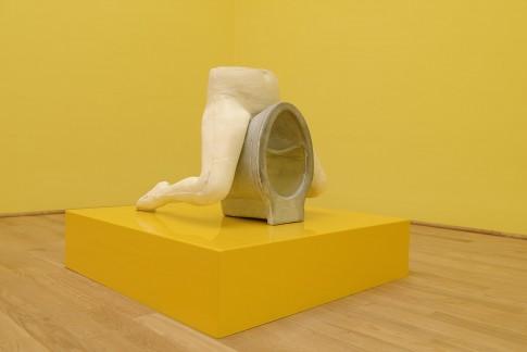 Sarah Lucas, I SCREAM DADDIO,wystawa w pawilonie brytyjskim na Biennale Sztuki w Wenecji,venicebiennale.britishcouncil.org 2