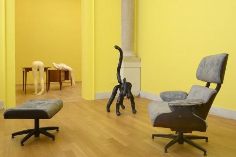 Sarah Lucas, I SCREAM DADDIO,wystawa w pawilonie brytyjskim na Biennale Sztuki w Wenecji,venicebiennale.britishcouncil.org